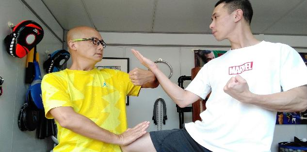 Wing Chun Street Fight Self-Defense Technique