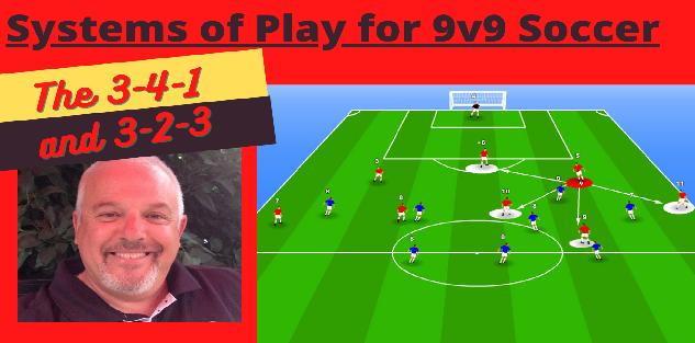 The 3-4-1 and 3-2-3 Systems of Play for the 9v9 Soccer