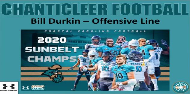 Bill Durkin - Coastal Carolina Counter