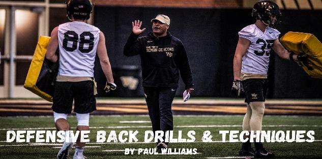 Paul Williams Wake Forest - DB Drills and Techniques