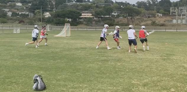 Developing Improvisational Lacrosse Skills through Keep Away