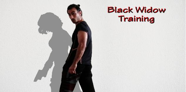 Black Widow Training (Fighting, Stretching and Ballet)