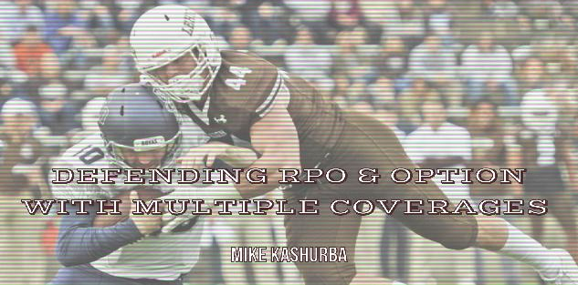 Mike Kashurba - Combination coverages to defend RPO and Option