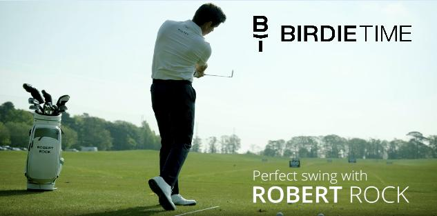 Birdietime: The Perfect Swing by Robert Rock