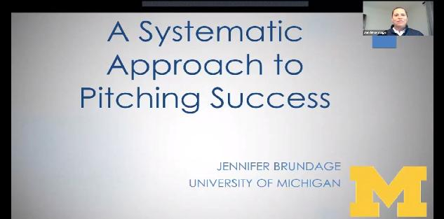 A Systematic Approach to Pitching Success with Jennifer Brundage