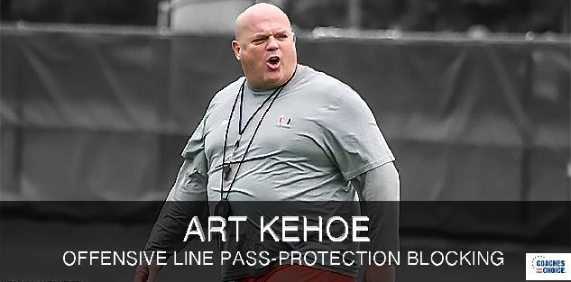 Offensive Line Pass-Protection Blocking