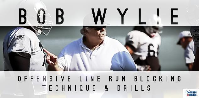 Offensive Line Run Blocking Technique & Drills