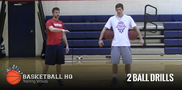 BasketballHQ Two Ball Workout