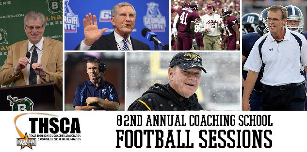 2014 Texas High School Coaches Association Coaching School—Football Sessions