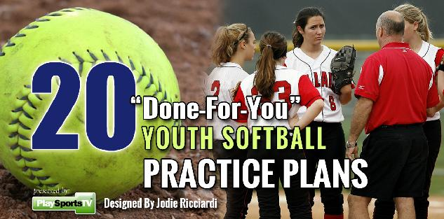 20 Done-For-You Youth Softball Practices