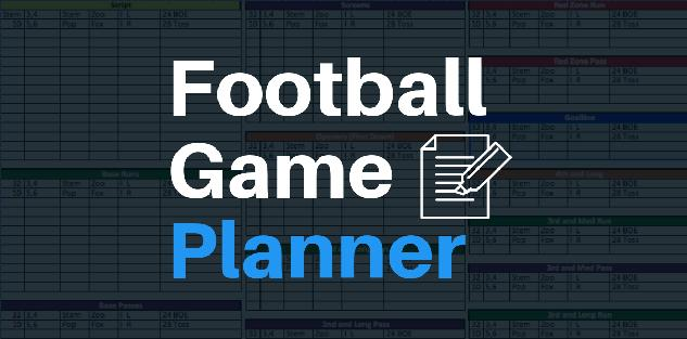 Easy Football Game Planner