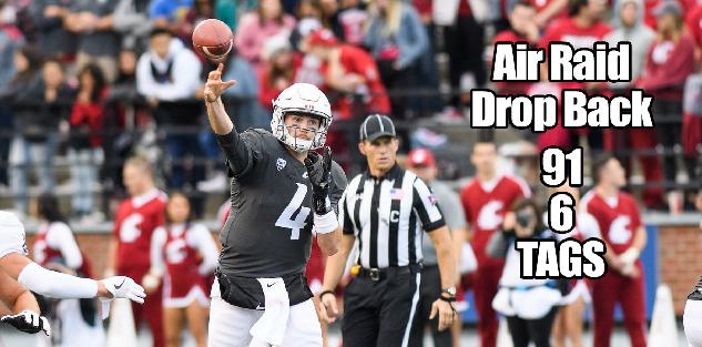 Air Raid Drop Back: A Breakdown of Mike Leach`s 6 and 91