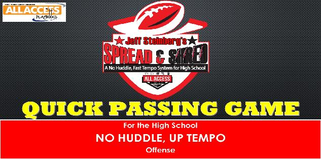 SPREAD N SHRED No Huddle, Fast Tempo Offense: Quick Passing Game