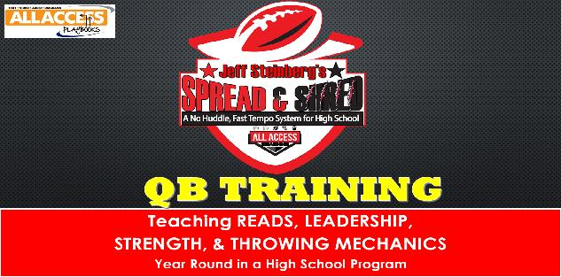 SPREAD N SHRED No Huddle, Fast Tempo Offense: Year Round QB Development