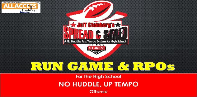 SPREAD N SHRED No Huddle, Fast Tempo Offense: Zone Option Run Game and RPO