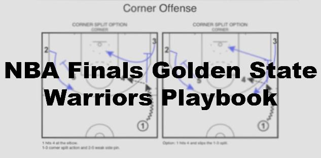 NBA Finals Golden State Warriors Playbook