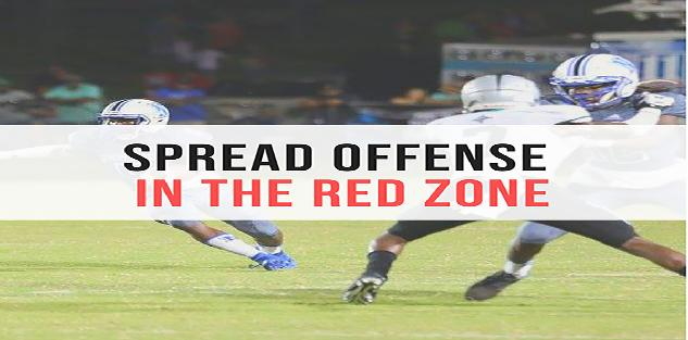 Spread Offense In The Red Zone