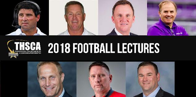 2018 Coaching School Football Lectures
