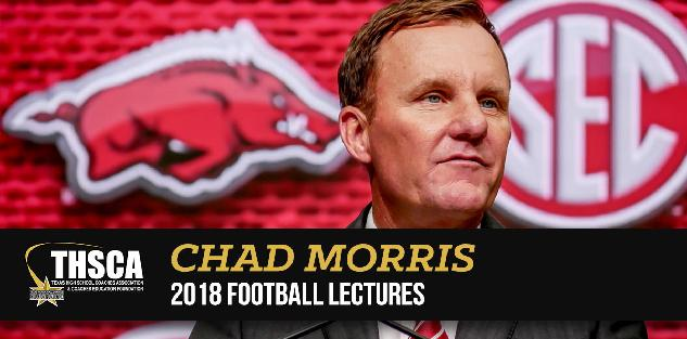 Chad Morris | Razorback Offense: Pass Run w Play Action Shots