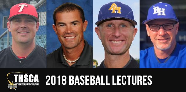 2018 Coaching School Baseball Lectures