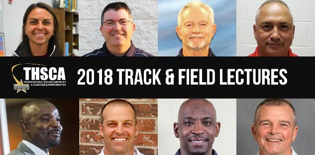 2018 Coaching School Track Lectures