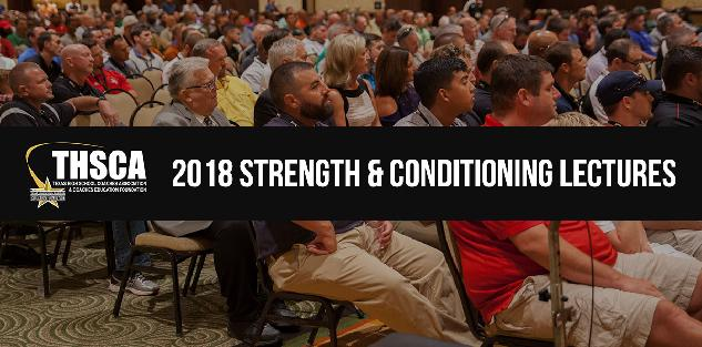 2018 Coaching School Strength & Conditioning Lectures
