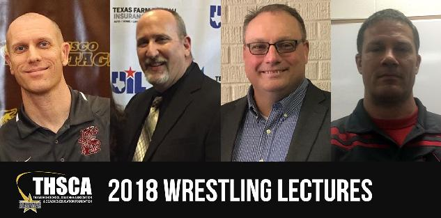2018 Coaching School Wrestling Lectures