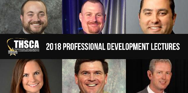 2018 Coaching School Professional Development Lectures