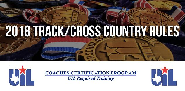 2018 Track & Cross Country UIL Rules