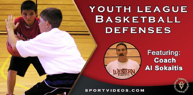 Youth League Basketball Defense featuring Coach Al Sokaitis
