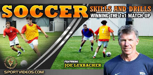 Soccer Skills and Drills: Winning the 1v1 Match-up featuring Coach Joe Luxbacher