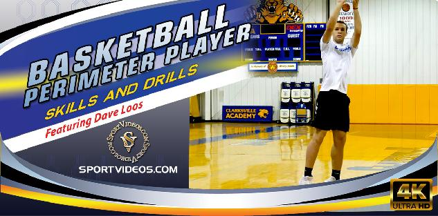 Basketball Perimeter Player Skills and Drills featuring Coach Dave Loos