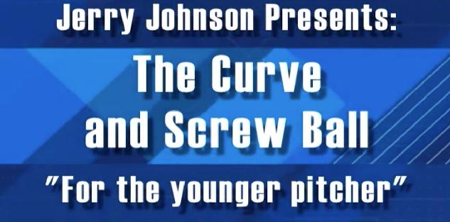 The Curve & Screw Ball For the Younger Pitcher