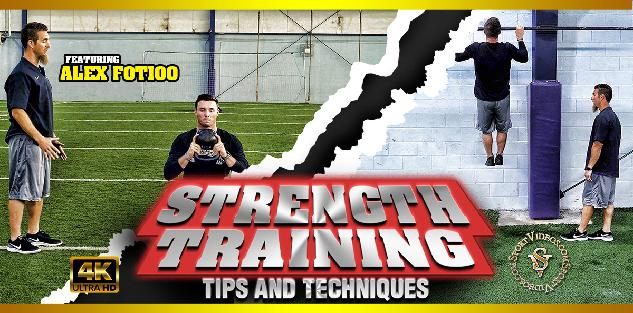 Strength Training Tips and Techniques featuring Coach Alex Fotioo