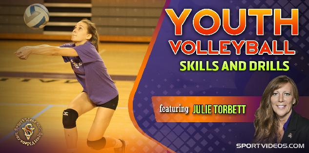Youth Volleyball Skills and Drills featuring Coach Julie Torbett