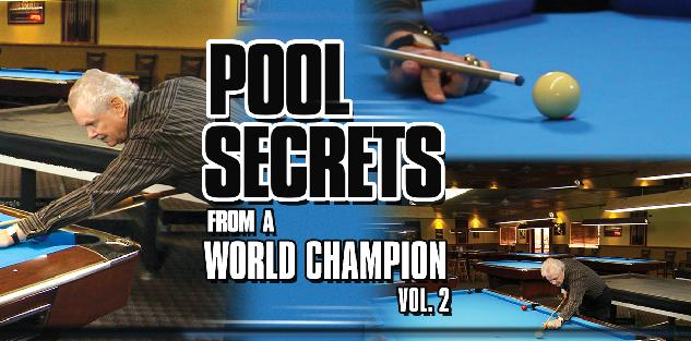 Pool Secrets from a World Champion Vol. 2 featuring Ray Martin