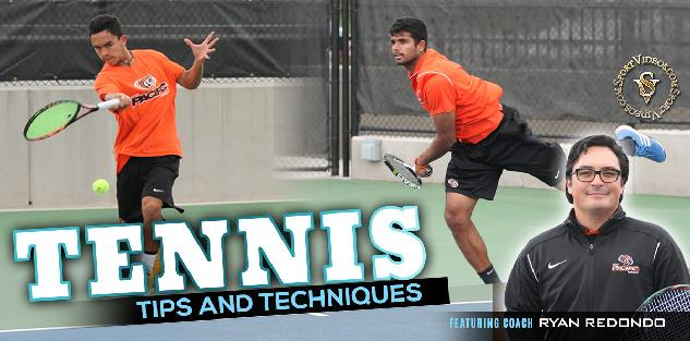 Tennis Tips and Techniques featuring Coach Ryan Redondo