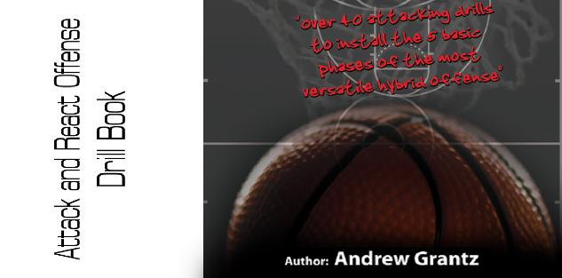 Attack and React Offense Drill Book by Andrew Grantz