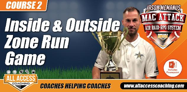 MacAttack COURSE 2: Inside & Outside Zone Run Game