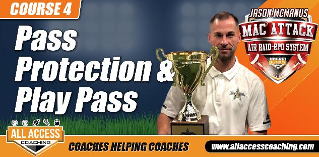 Pass Protections, Blitz Pickups, Boots and Play Action Pass in a No Huddle Spread Offense