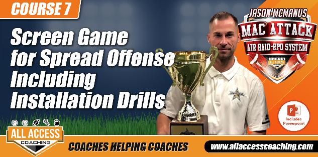 Fast, Bubble, Missile, Double, and Slow Screens Including Installation Drills