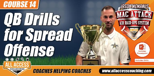 MacAttack COURSE 14: QB Drills including downloadable training manuals