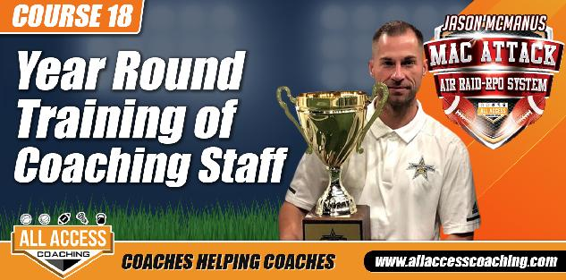 Training a Coaching Staff and Year-Round Responsibilities