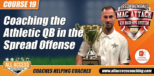 Developing a QB in the Spread Off: Incl Daily Drills & Vertical Integration