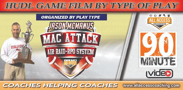 MacAttack COURSE 20: HUDL Game Clips Organized by Type of Play - Coming Soon