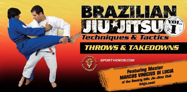 Brazilian Jiu Jitsu Throws and Takedowns featuring Master Marcus Vinicius Di Lucia