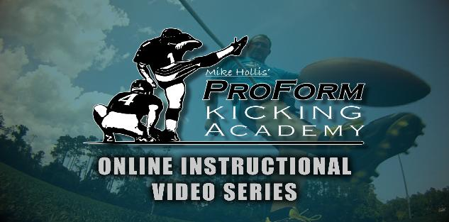 9 Year NFL Veteran & All Pro Kicker Mike Hollis - Kicking and Punting Instruction