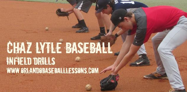 Infield Drills with Chaz Lytle Baseball