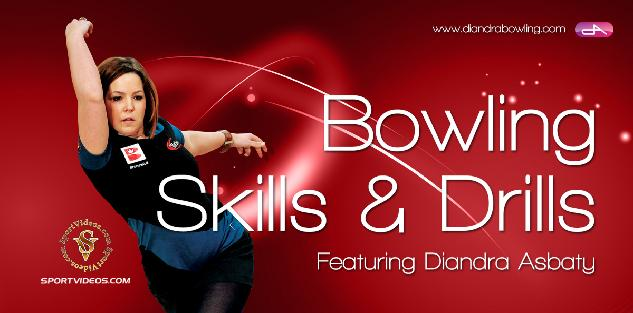 Bowling Skills and Drills featuring Diandra Asbaty