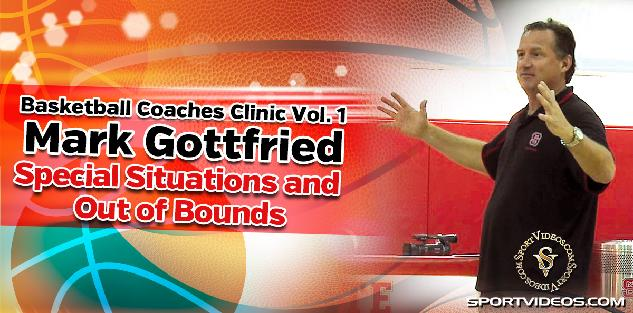 Basketball Coaches Clinic, Vol. 1 - Special Situations and Out of Bounds Plays featuring Coach Mark Gottfried